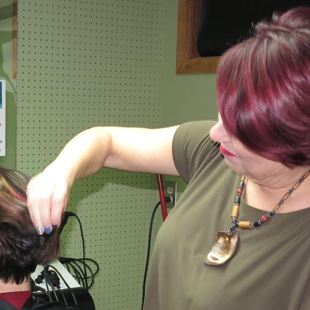 Custom hair colours