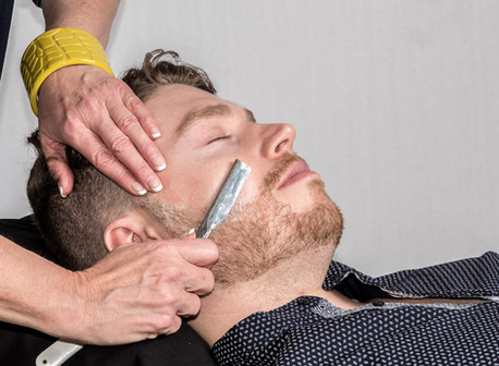 The Art of a Hot Towel Shave