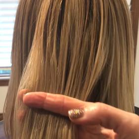Gorgeous Blonde hair with a bob hair cut