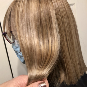 Blonde hair that is cut and coloured regularly look fabulous.