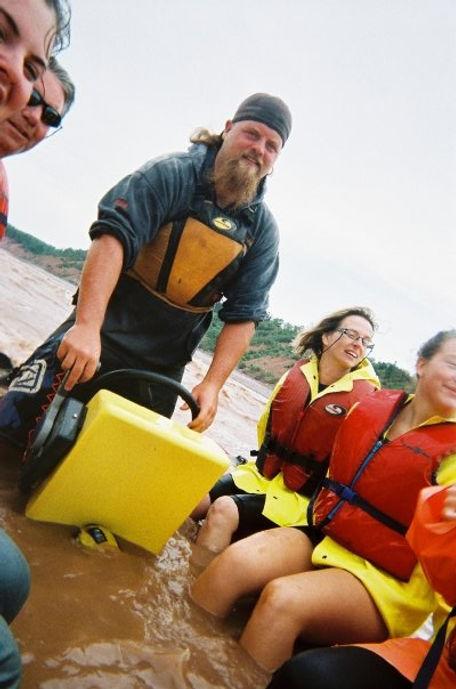 Jeff is an experienced gudie an the Shubenacadie River Tidal Bore
