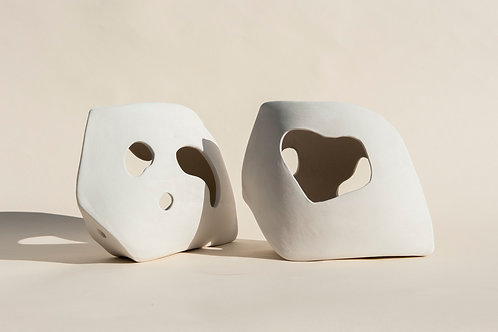PAIR OF LAMP - SCULPTURAL OBJECT