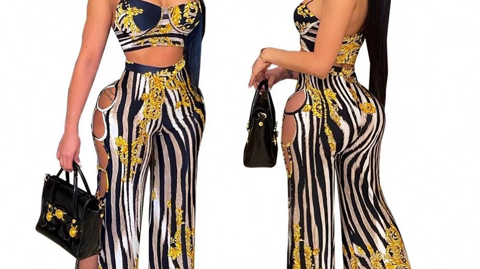 Elora Two Piece Print Set