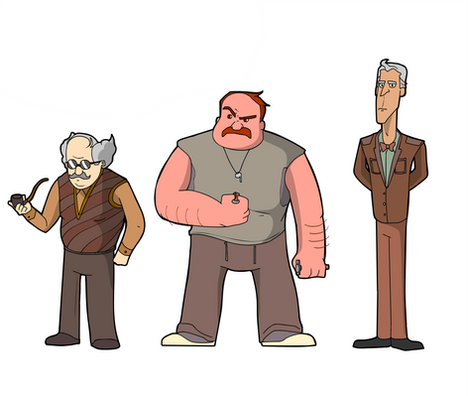 """""""Tales From Suburbia"""" Character Lineup (3)"""