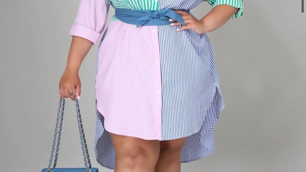 Chanel Oversized Tunic Dress(Plus size)