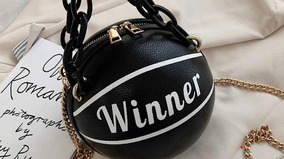 Winner Basketball Crossbody Bag