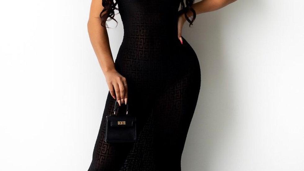 Mona  Dress (Black)