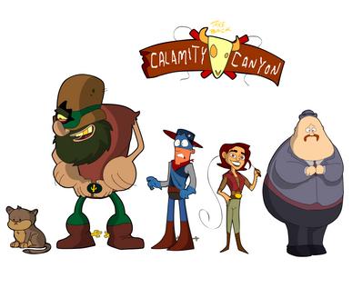 """Take Back Calamity Canyon"" Character Lineup"
