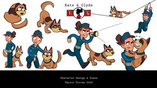 Kate & Clyde Model Sheet