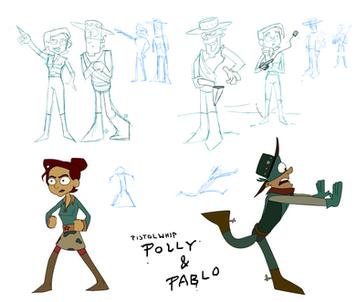 """""""Pistolwhip Polly & Pablo"""""""