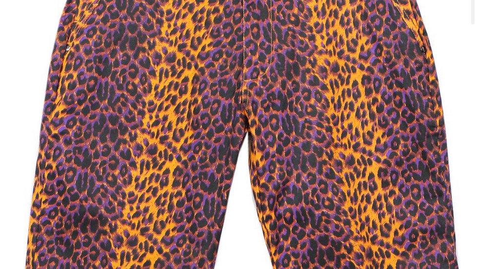 Men's Animal Print Shorts(Orange)