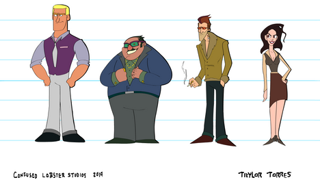 """""""The Industry Man"""" Character Lineup"""