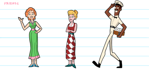 """""""Tales From Suburbia"""" Character Lineup (2)"""