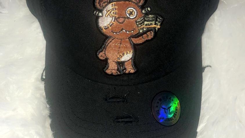 Mens Money Bear Hat