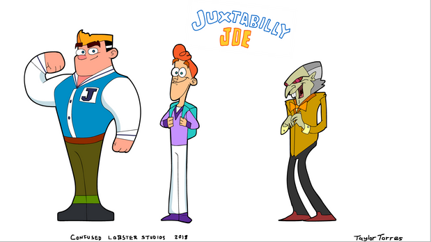 """Juxtabilly Joe"" Character Lineup"