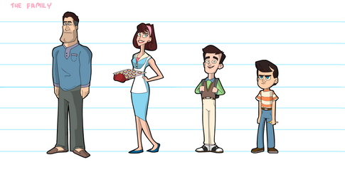 """""""Tales From Suburbia"""" Character Lineup (1)"""