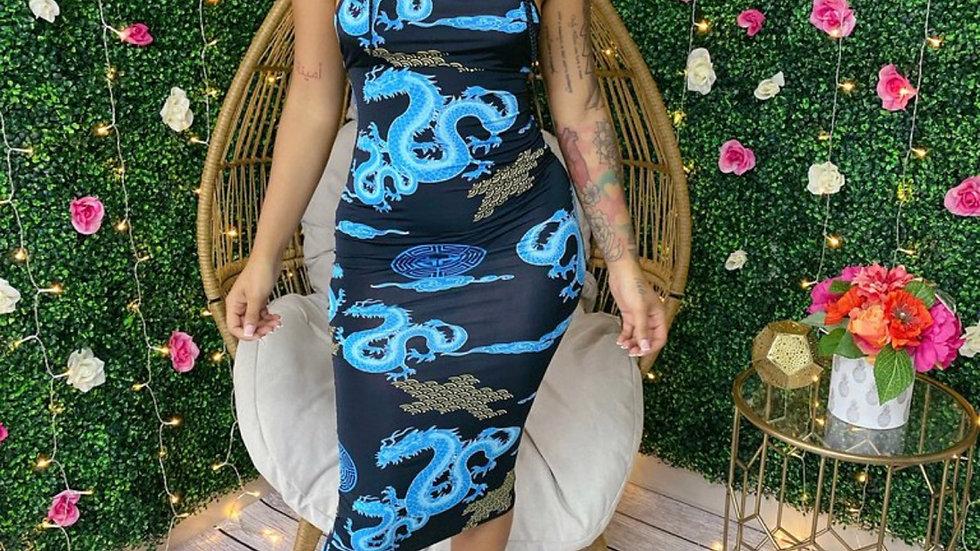 The Yeng Cross Back Dress