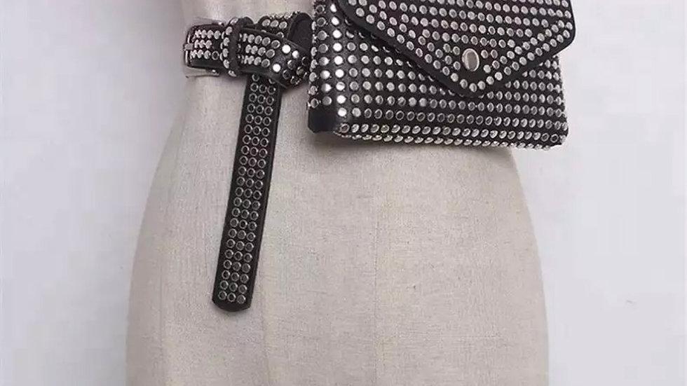Stud waist bag
