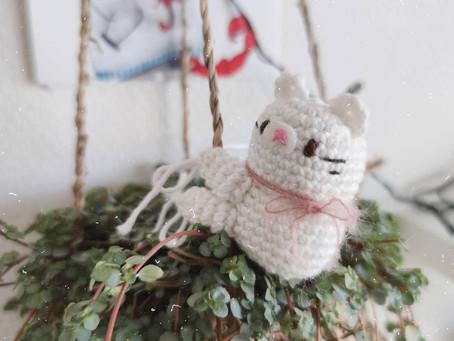 Kitty Bean Free Amigurumi Pattern ✿