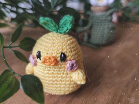 Chubby Chick Free Amigurumi Pattern ✿