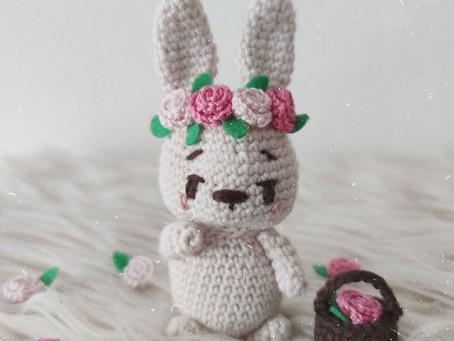 Spring Bunny Amigurumi design  (◕ܫ◕✿)