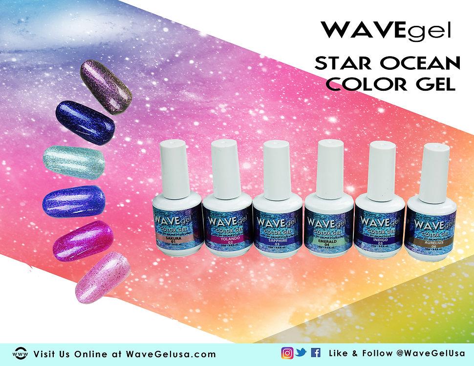 WAVEGEL STAR OCEAN COLOR GEL flyer part