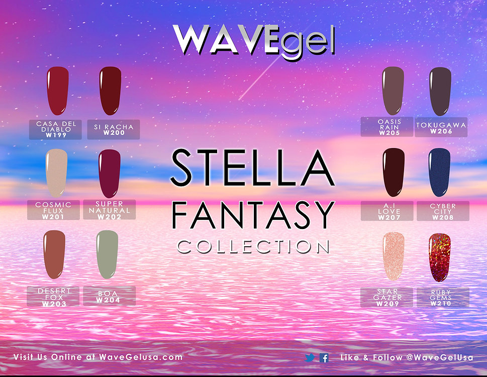WAVEGEL STELLA COLLECTION FLYER 2018 TEM