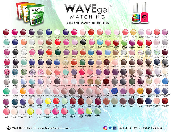 ALL WAVE GEL COLOR FLYER updated 2019 05