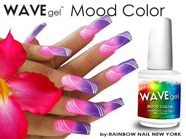 WAVEGEL MOOD COLOR BY RAINBOW NAIL NEW YORK
