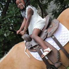 Karson Riding Horse at Beyond Basic Learning Academy
