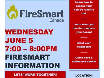 FireSmart @ CLC&RA meeting June 6