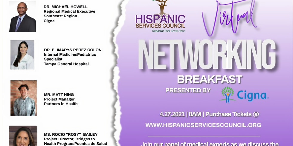 8th Annual Networking Breakfast Presented by Cigna
