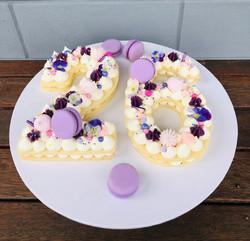 '26' Cookie Cake
