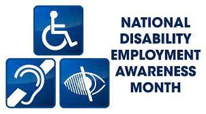 National Disabilities Employment Month