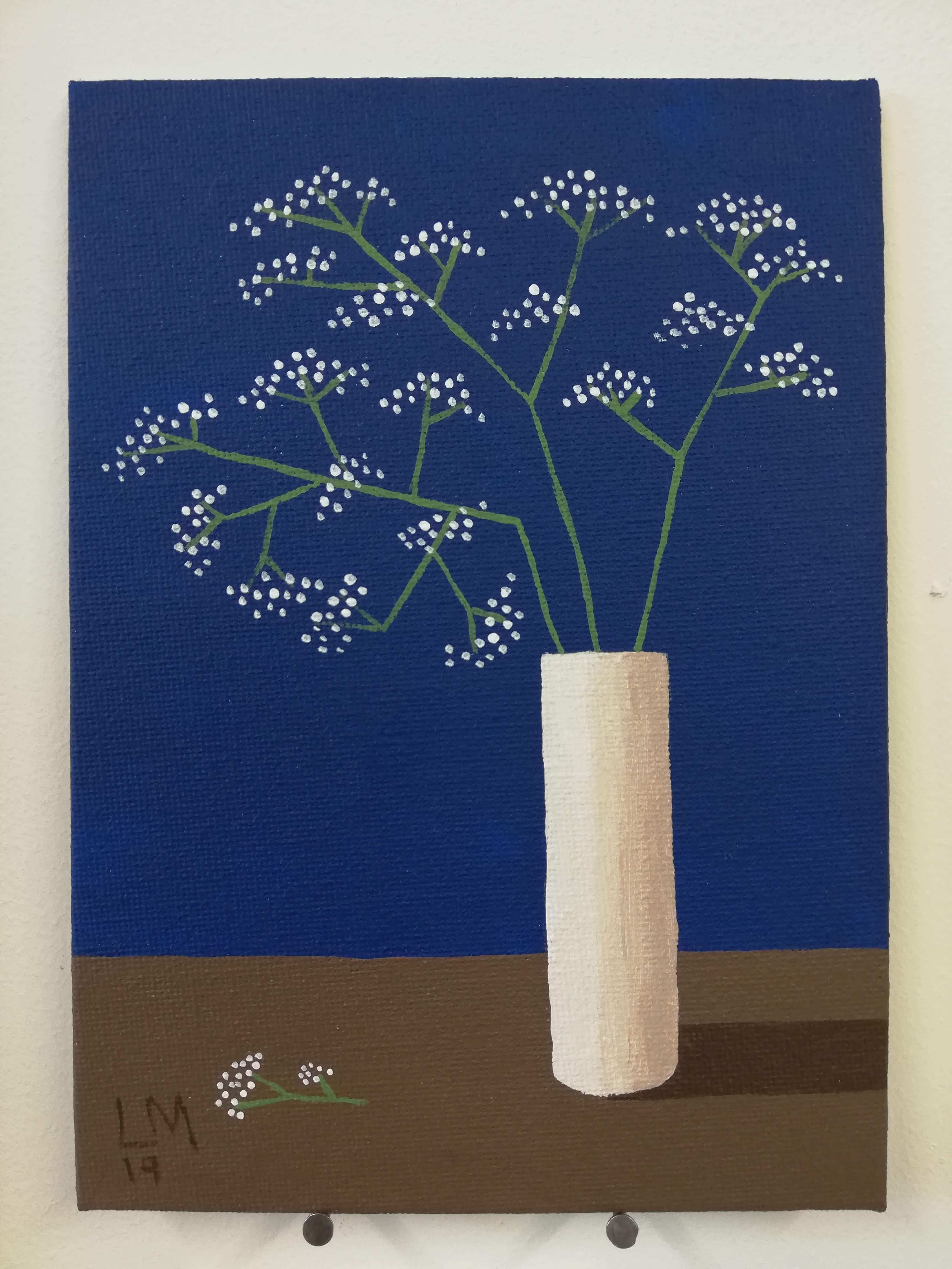 'Gypsophila in a Vase'