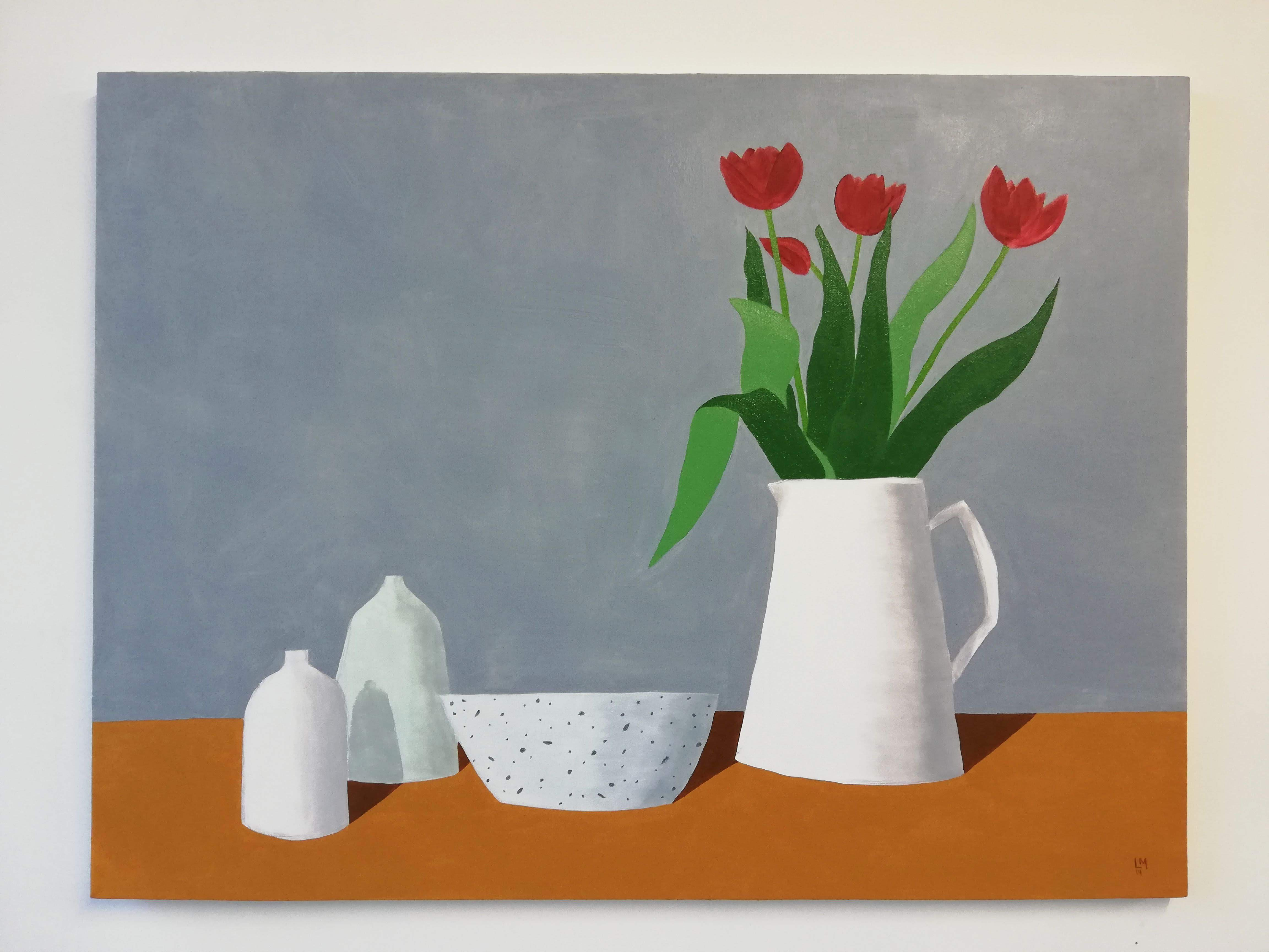 'Tulips in a Jug'
