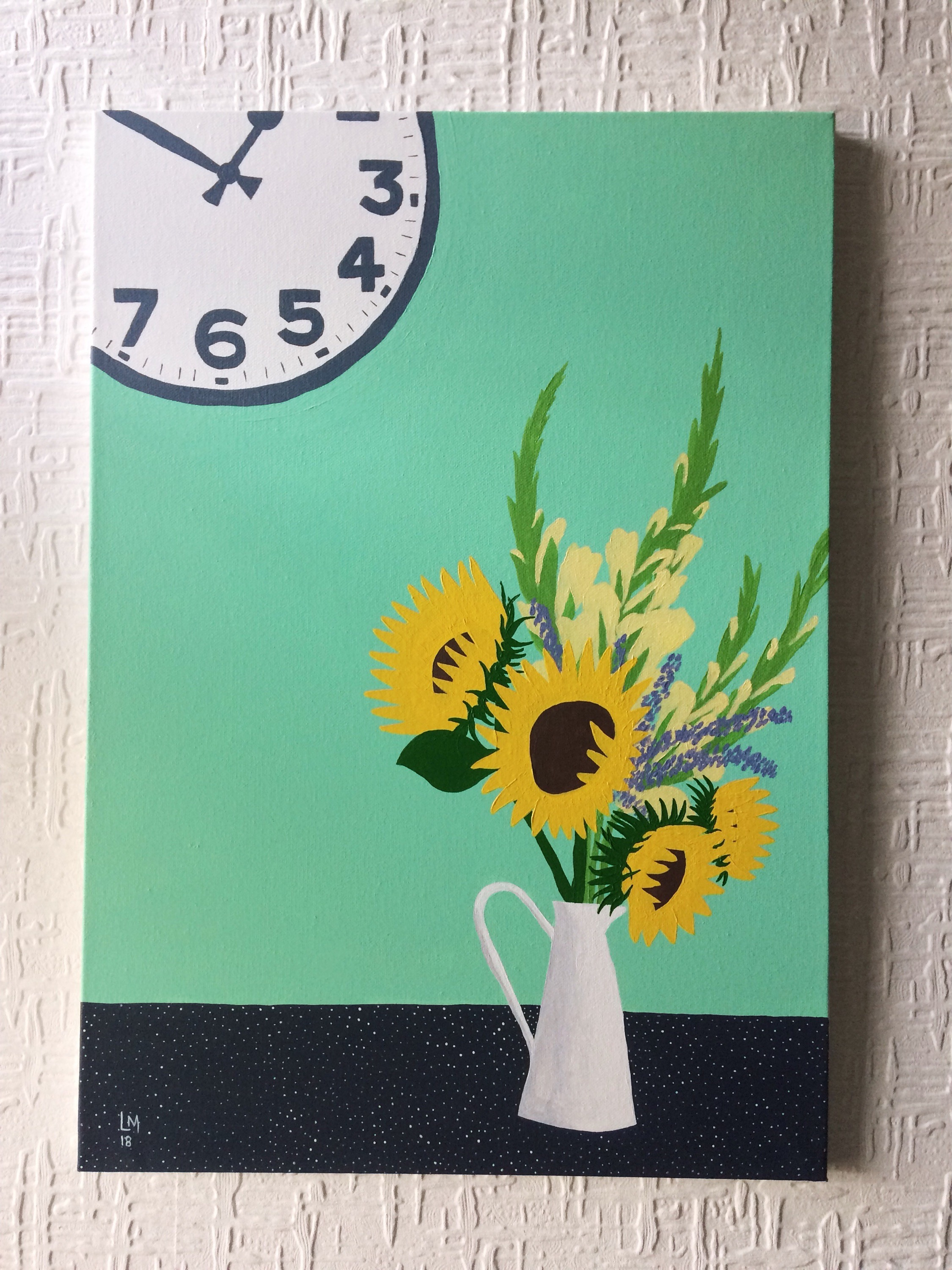 'Sunflowers in a Jug'