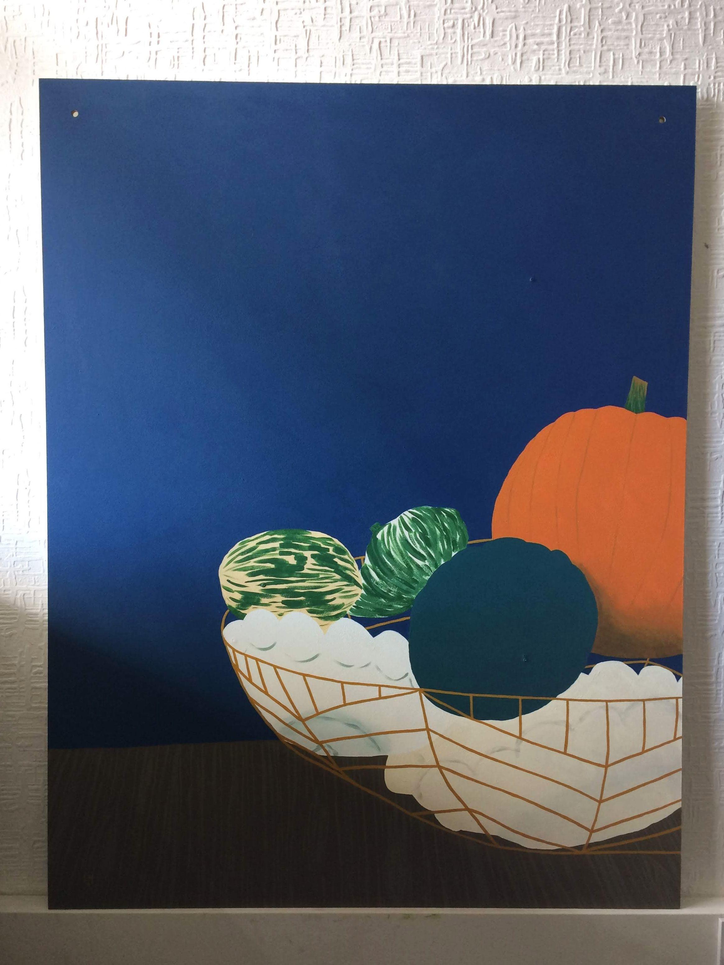 'Pumpkins in a Basket'