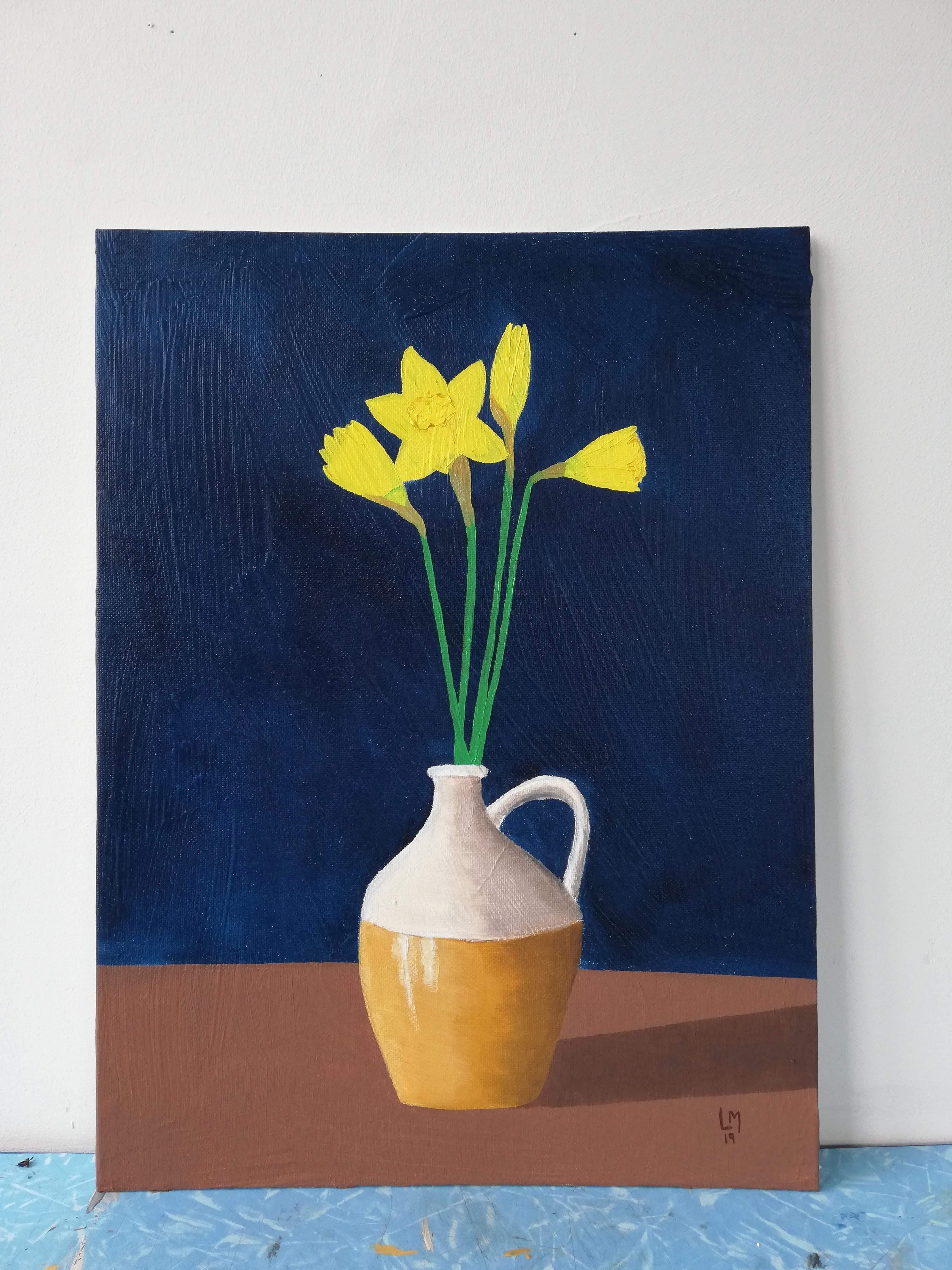 'Daffodils in a Jug'