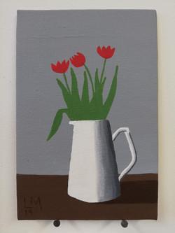 'Tulips in a Jug'