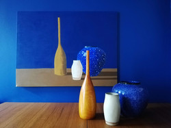 'Three Vases from a Charity Shop in Rotherham'
