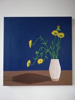 'Vase of Calendula'