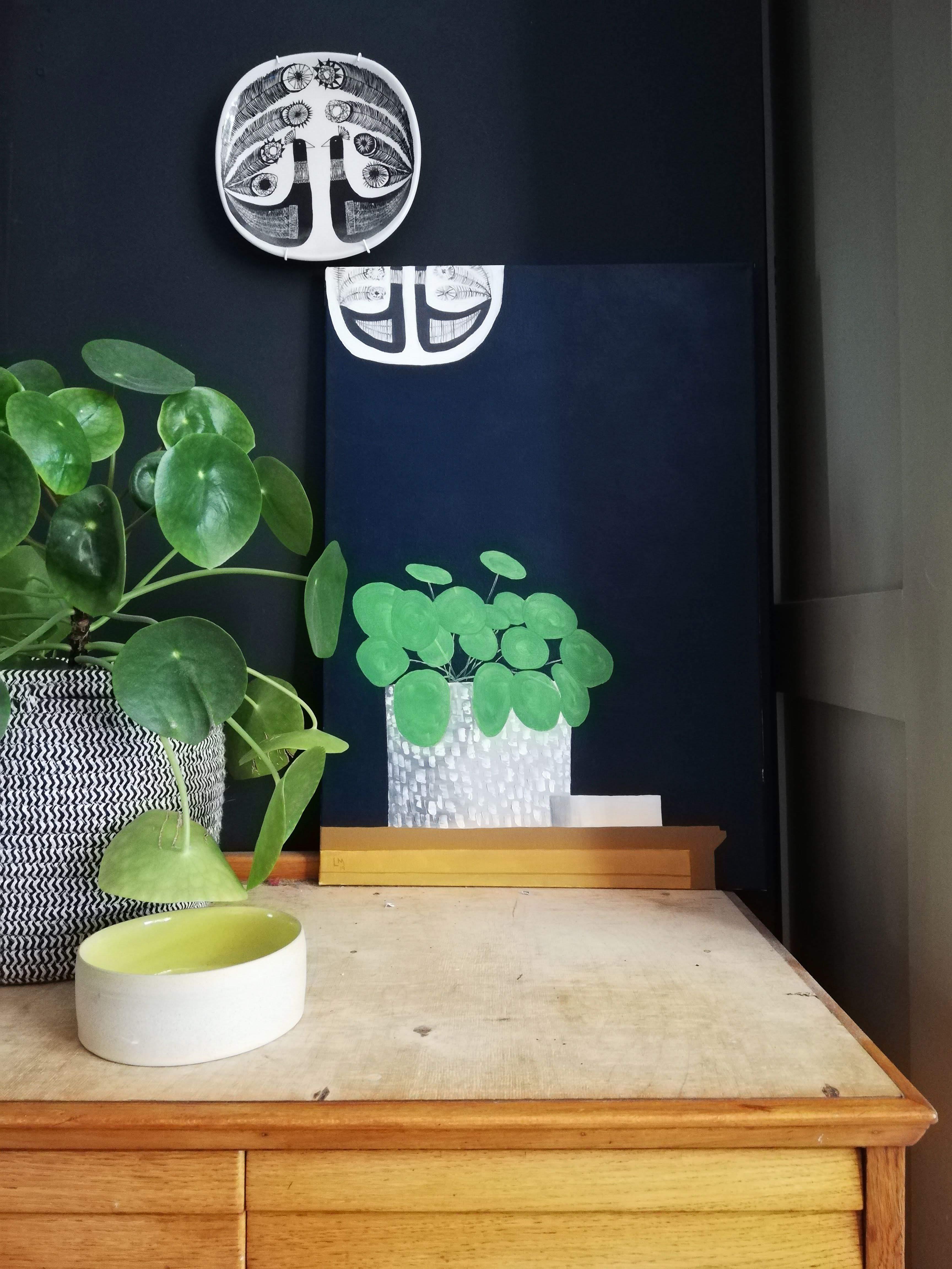 'Pilea on a Dresser'
