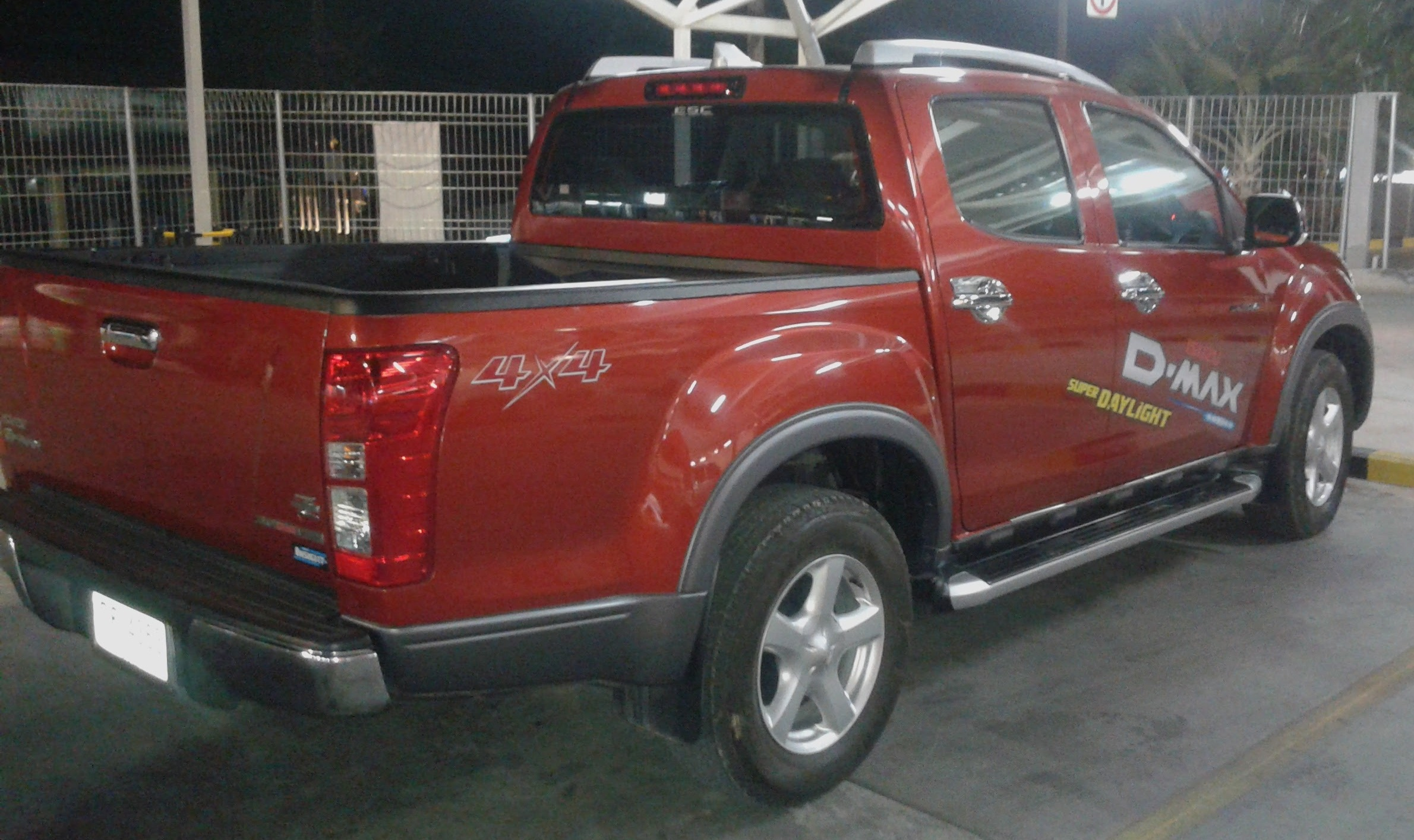 pick up D Max red for rent koh chang