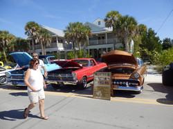 Car Show in Anna Maria, Florida