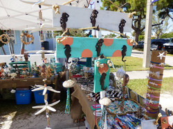 Craft Show in Anna Maria, Florida