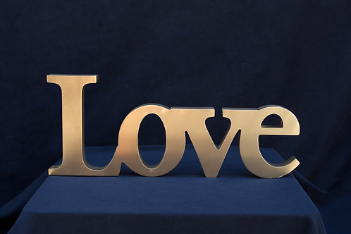 Love Word Sign