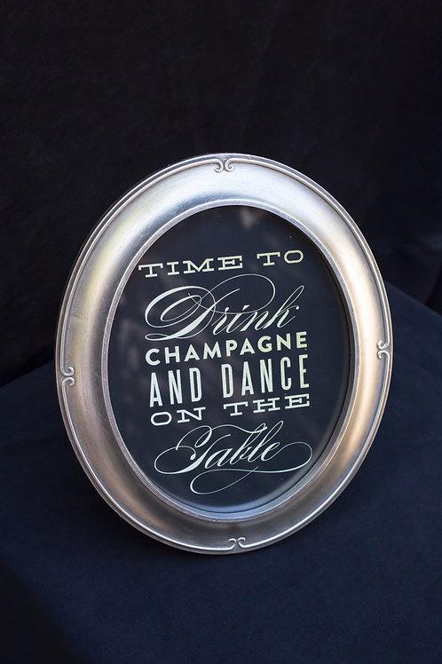 Dance Framed Sign