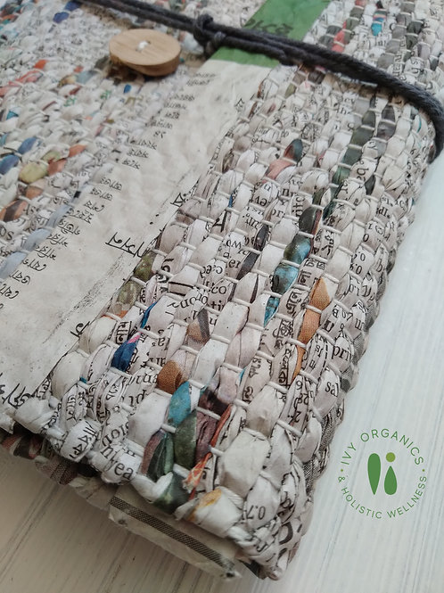 Upcycled Woven Journal