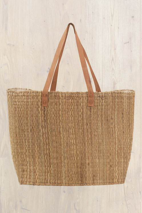 Handwoven Grass Tote